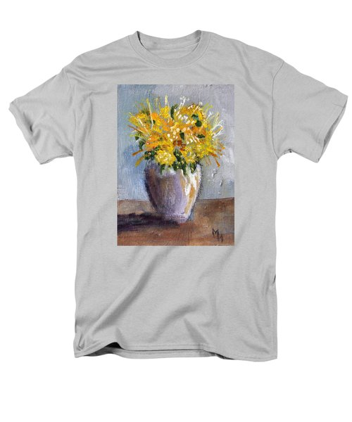 I Think Of Spring Men's T-Shirt  (Regular Fit) by Michael Helfen