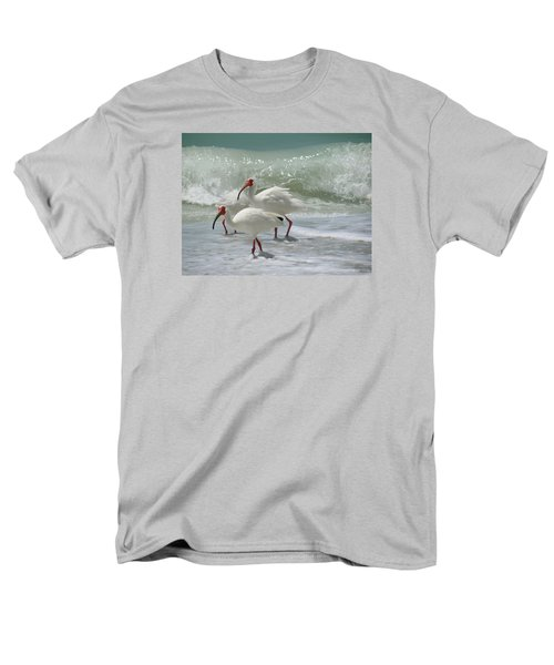 Ibis Pair Men's T-Shirt  (Regular Fit) by Melinda Saminski