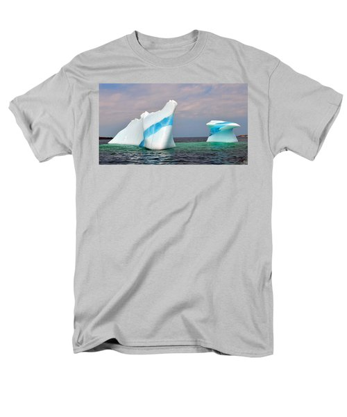 Iceberg Off The Coast Of Newfoundland Men's T-Shirt  (Regular Fit) by Lisa Phillips