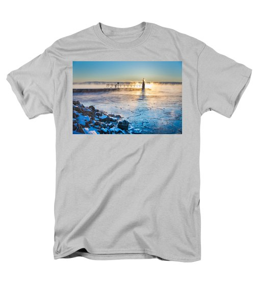 Icy Morning Mist Men's T-Shirt  (Regular Fit)