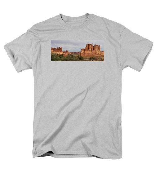 Men's T-Shirt  (Regular Fit) featuring the photograph In The Canyon by Bruce Bley