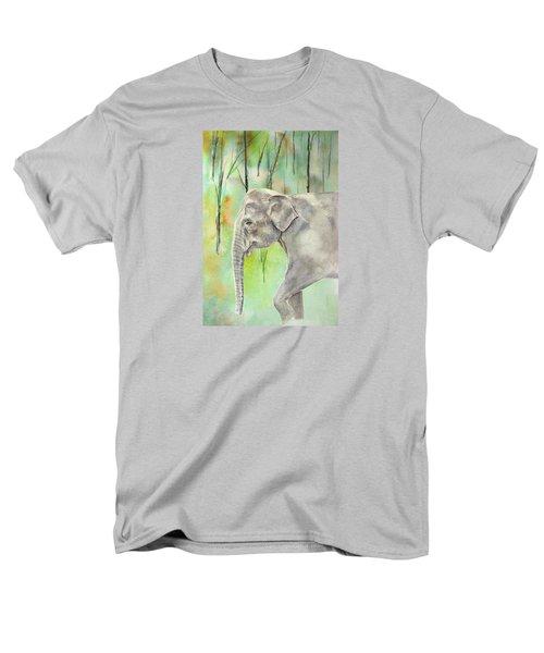 Indian Elephant Men's T-Shirt  (Regular Fit) by Elizabeth Lock