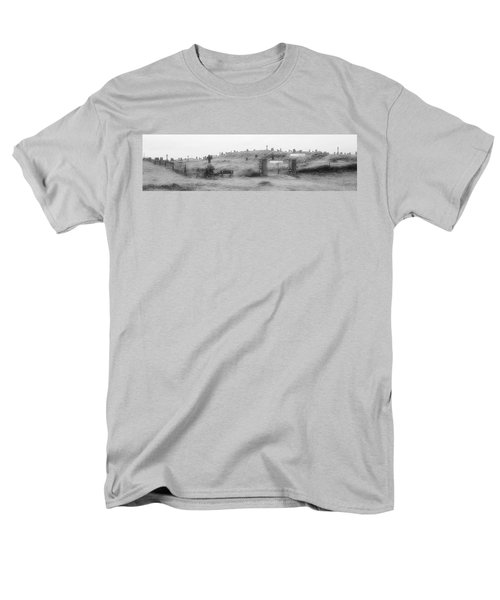 Inis Oirr Cemetery Men's T-Shirt  (Regular Fit) by Tara Potts