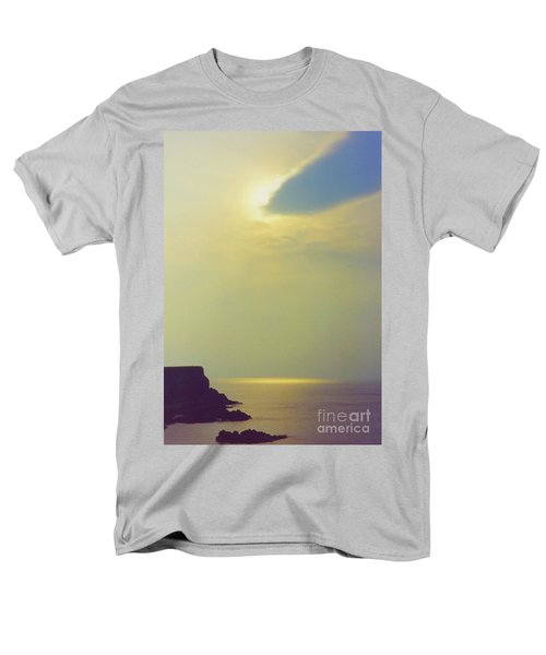 Ireland Giant's Causeway Ethereal Light Men's T-Shirt  (Regular Fit) by First Star Art