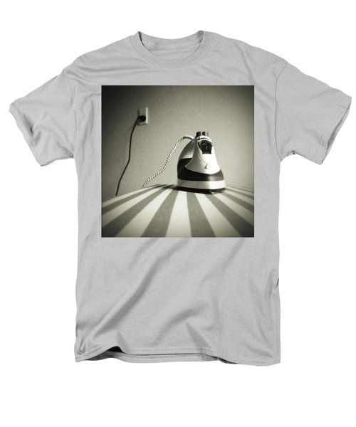 Men's T-Shirt  (Regular Fit) featuring the photograph Iron by Les Cunliffe