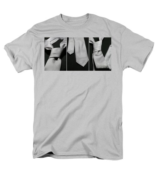 Men's T-Shirt  (Regular Fit) featuring the photograph It's A Tie - Triptych by Trish Mistric