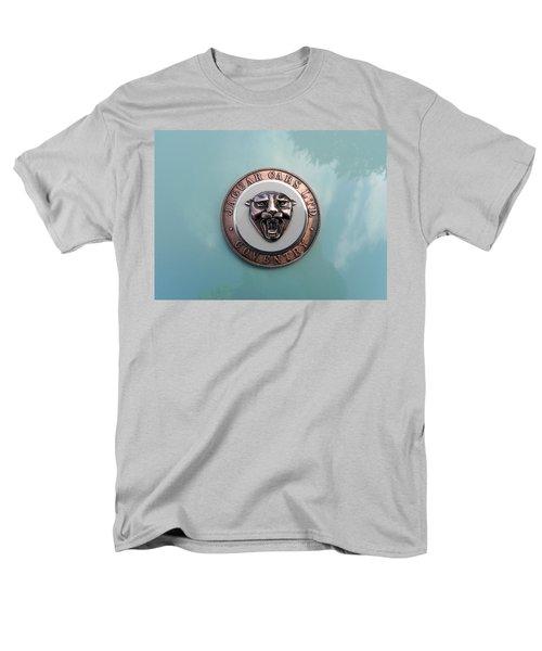 Men's T-Shirt  (Regular Fit) featuring the photograph Jaguar Hood Emblem by Cheryl Hoyle