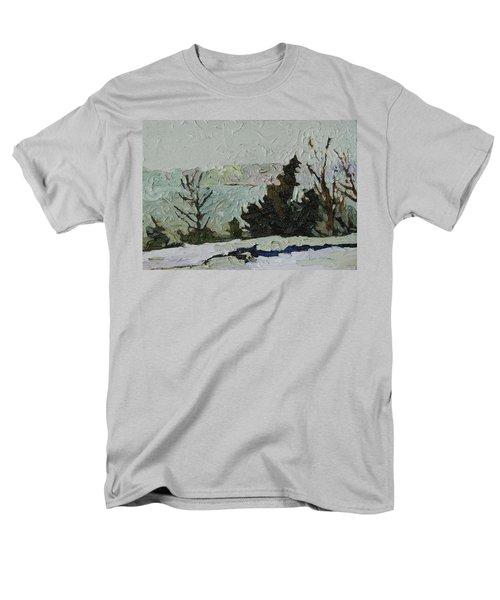 January Grays Men's T-Shirt  (Regular Fit) by Phil Chadwick