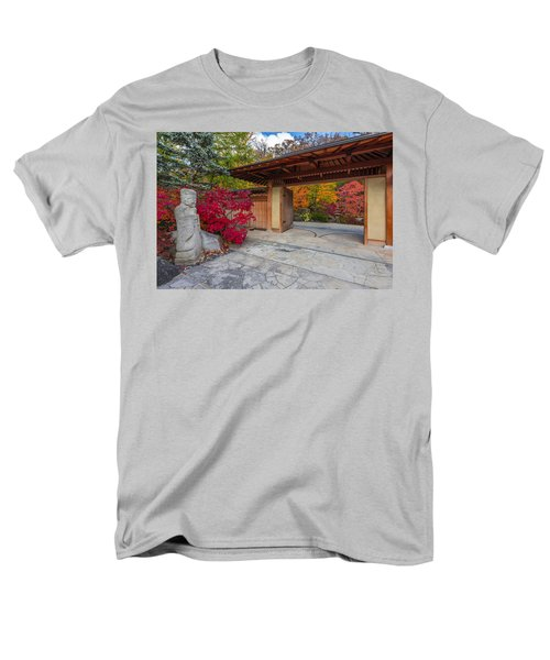 Men's T-Shirt  (Regular Fit) featuring the photograph Japanese Main Gate by Sebastian Musial