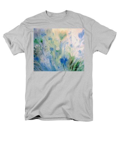 Jardin Bleu Men's T-Shirt  (Regular Fit) by Julie Brugh Riffey