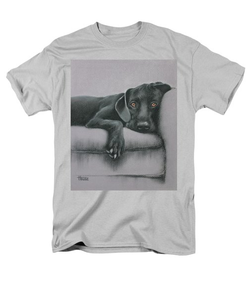 Men's T-Shirt  (Regular Fit) featuring the drawing Jasper by Cynthia House