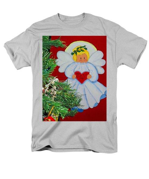 Men's T-Shirt  (Regular Fit) featuring the painting Joy by Barbara McDevitt