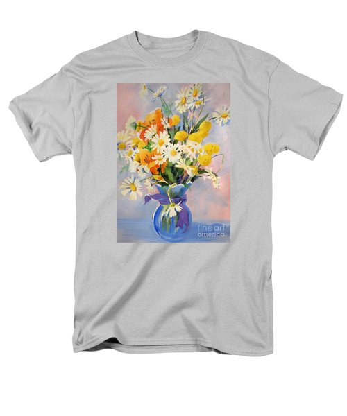 July Summer Arrangement  Men's T-Shirt  (Regular Fit) by Kathy Braud