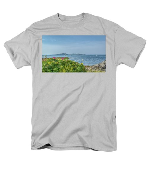 Men's T-Shirt  (Regular Fit) featuring the photograph Kettle Cove by Jane Luxton