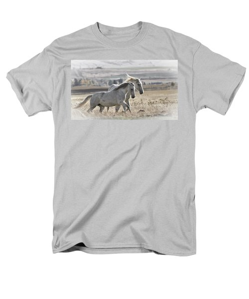 Men's T-Shirt  (Regular Fit) featuring the photograph Knee Deep D3505 by Wes and Dotty Weber