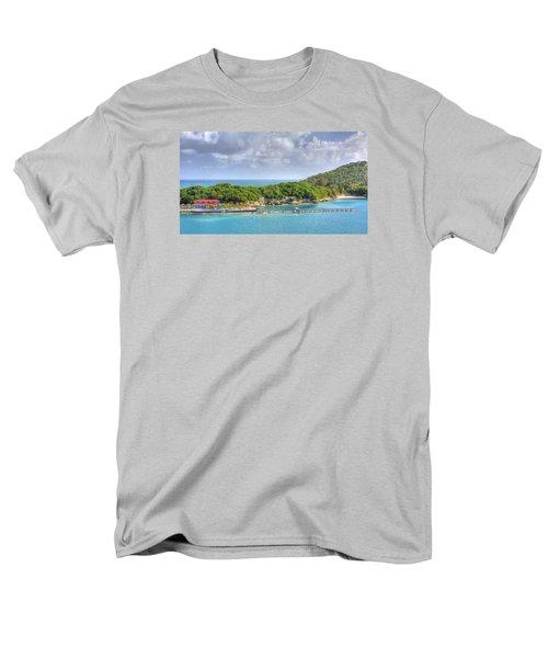 Labadee Men's T-Shirt  (Regular Fit) by Shelley Neff