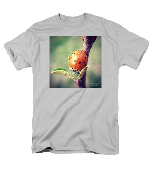 Men's T-Shirt  (Regular Fit) featuring the photograph Ladybug  by Kerri Farley