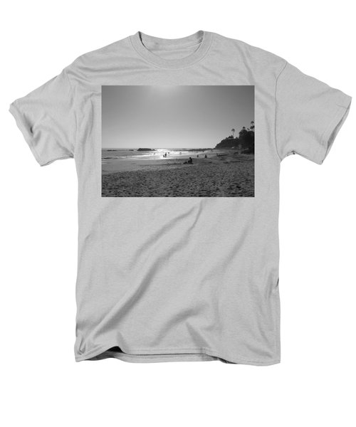 Men's T-Shirt  (Regular Fit) featuring the photograph Laguna Sunset Reflection by Connie Fox
