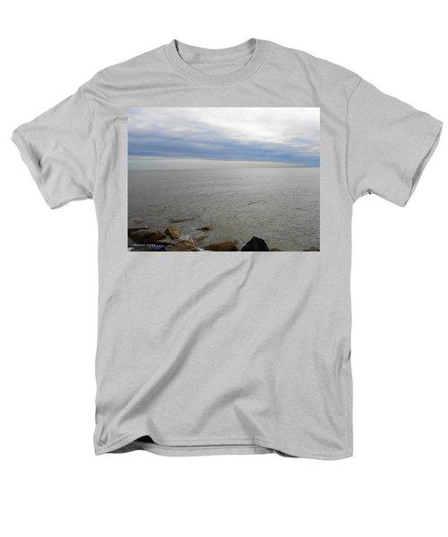 Lake Michigan 3 Men's T-Shirt  (Regular Fit) by Verana Stark