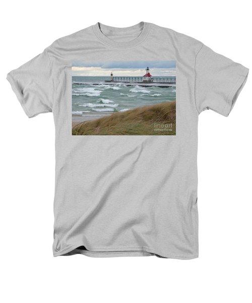 Lake Michigan Winds Men's T-Shirt  (Regular Fit)