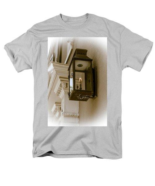 Men's T-Shirt  (Regular Fit) featuring the photograph Lamp Unto My Feet by Sennie Pierson