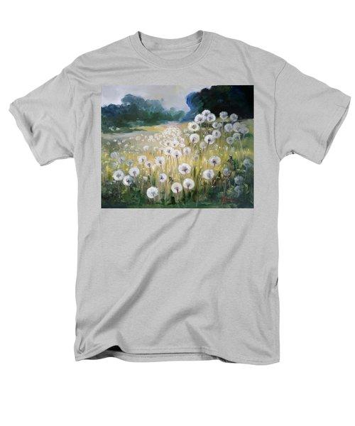 Lanscape With Blow-balls Men's T-Shirt  (Regular Fit) by Irek Szelag