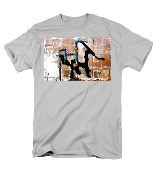 Men's T-Shirt  (Regular Fit) featuring the photograph Leaky Faucet II by Christiane Hellner-OBrien