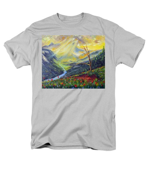 Men's T-Shirt  (Regular Fit) featuring the painting Life Force by Meaghan Troup