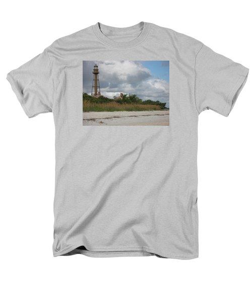 Men's T-Shirt  (Regular Fit) featuring the photograph Sanibel Island Light by Christiane Schulze Art And Photography