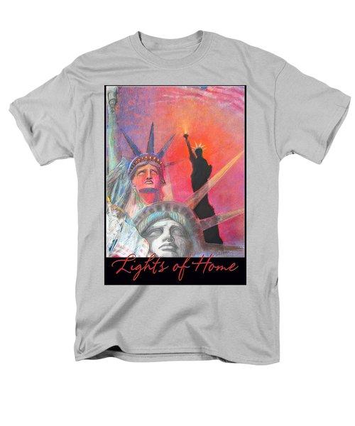 Lights Of Home Men's T-Shirt  (Regular Fit) by Brooks Garten Hauschild