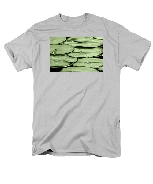Lilypads Men's T-Shirt  (Regular Fit) by Roselynne Broussard