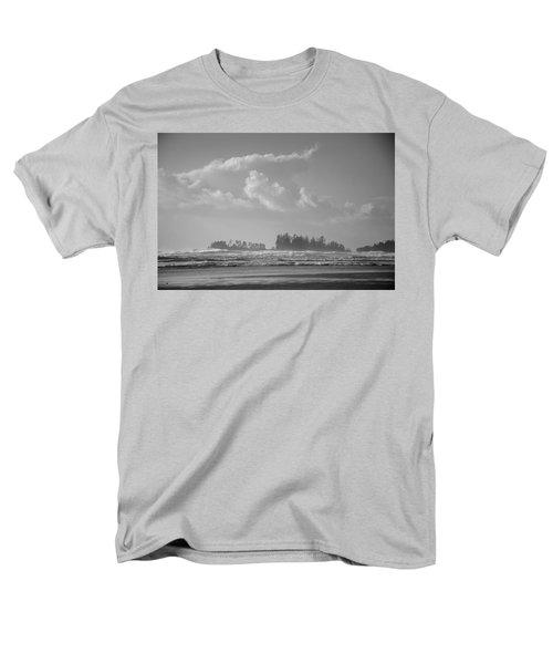 Long Beach Landscape  Men's T-Shirt  (Regular Fit) by Roxy Hurtubise