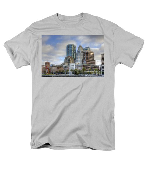 Men's T-Shirt  (Regular Fit) featuring the photograph Looking Downtown by Kate Brown