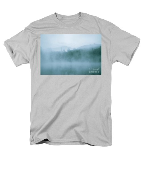 Lost In Fog Over Lake Men's T-Shirt  (Regular Fit) by Jola Martysz