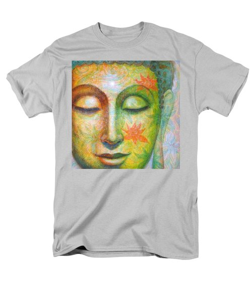 Lotus Meditation Buddha Men's T-Shirt  (Regular Fit) by Sue Halstenberg