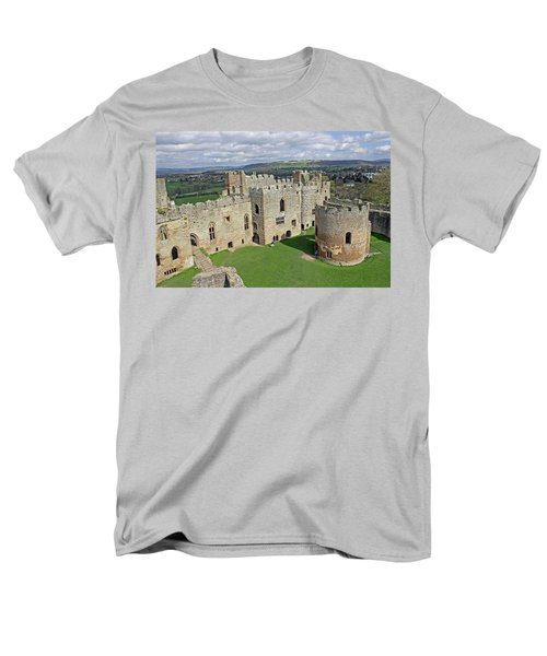 Ludlow Castle Chapel And Great Hall Men's T-Shirt  (Regular Fit) by Tony Murtagh