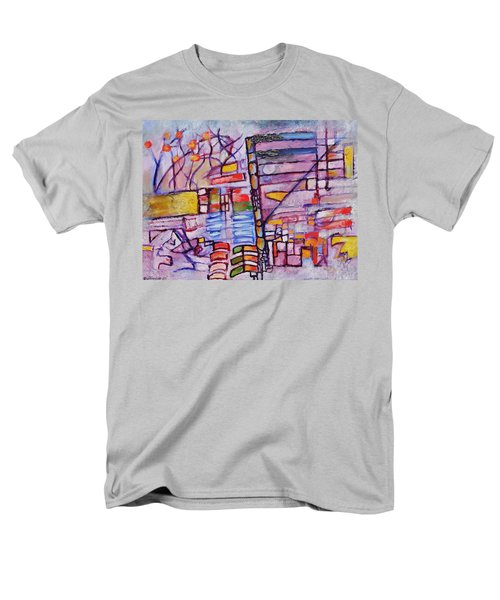 Lysergic Descriptions Men's T-Shirt  (Regular Fit) by Jason Williamson