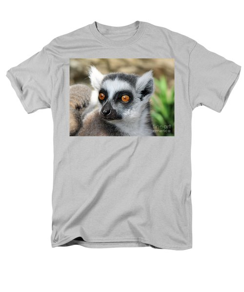 Malagasy Lemur Men's T-Shirt  (Regular Fit) by Sergey Lukashin