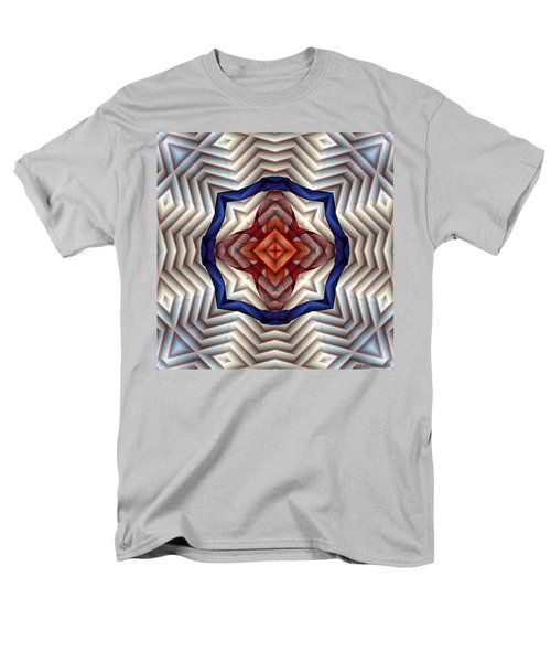 Men's T-Shirt  (Regular Fit) featuring the digital art Mandala 11 by Terry Reynoldson