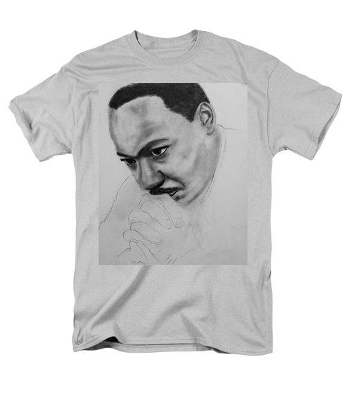 Martin Luther King Jr. Mlk Jr. Men's T-Shirt  (Regular Fit) by Michael Cross