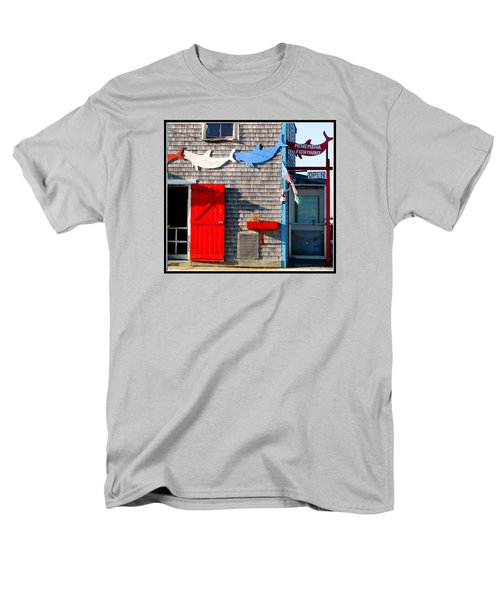 Menemsha Fish Market 3 Men's T-Shirt  (Regular Fit) by Kathy Barney