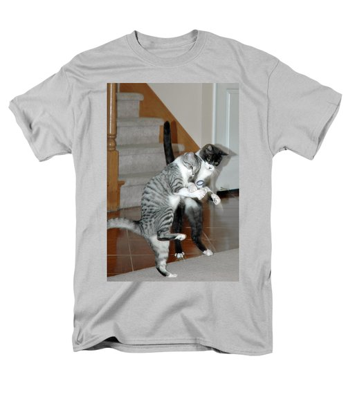 Meow Vows Men's T-Shirt  (Regular Fit) by LeeAnn McLaneGoetz McLaneGoetzStudioLLCcom