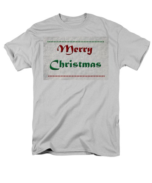 Merry Christmas Men's T-Shirt  (Regular Fit) by Aimee L Maher Photography and Art Visit ALMGallerydotcom