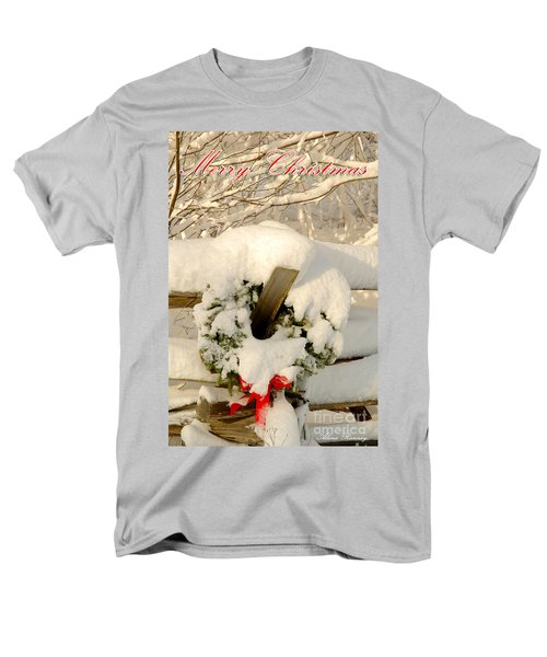 Men's T-Shirt  (Regular Fit) featuring the photograph Merry Christmas by Alana Ranney