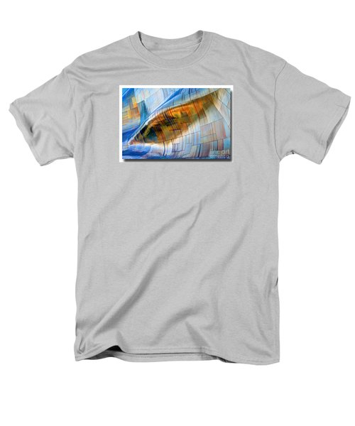 Men's T-Shirt  (Regular Fit) featuring the photograph Metal Wave by Chris Anderson
