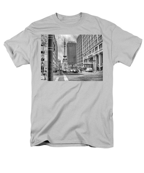 Monument Circle Men's T-Shirt  (Regular Fit) by Howard Salmon