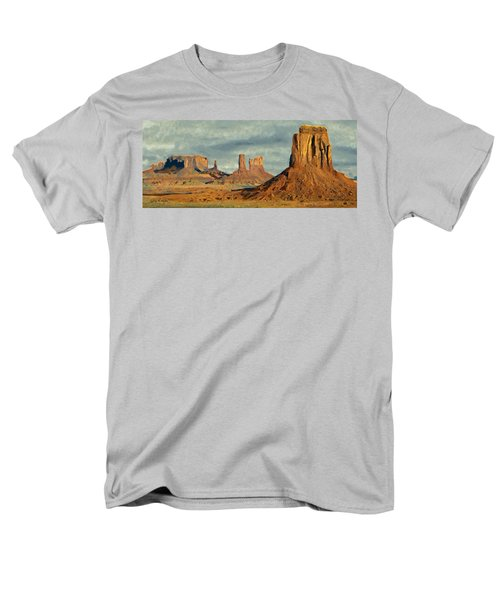Men's T-Shirt  (Regular Fit) featuring the painting Monumental by Jeff Kolker