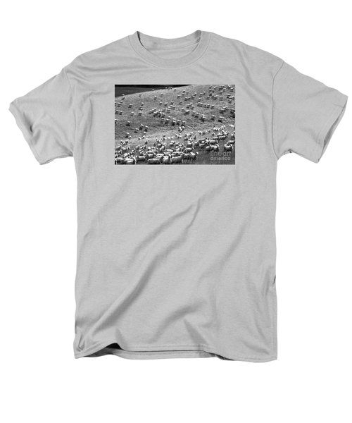 Moving Hillside Men's T-Shirt  (Regular Fit) by Nareeta Martin