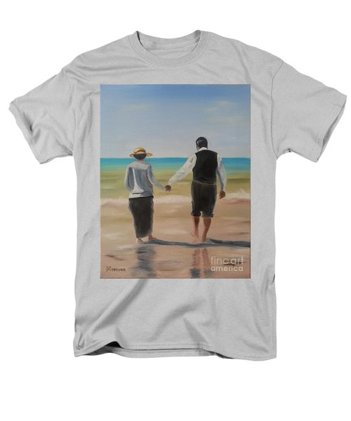 Mr. Carson And Mrs. Hughes Men's T-Shirt  (Regular Fit) by Bev Conover