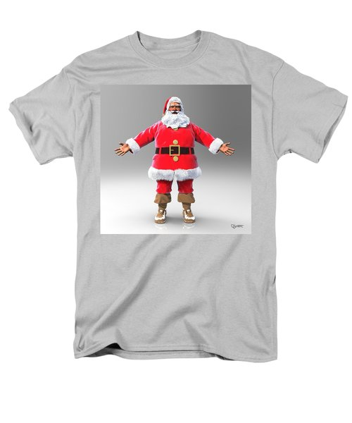 My Name Is Santa Men's T-Shirt  (Regular Fit) by Dave Luebbert